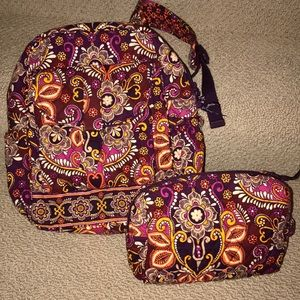 Vera Bradley Safari Sunset bundle